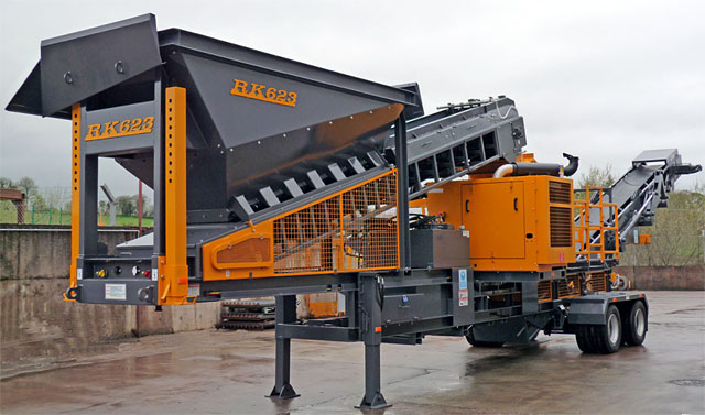 623S wheeled impact crusher