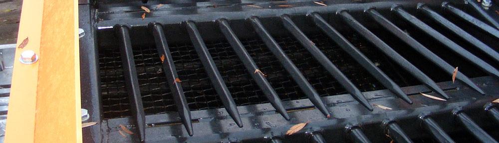Gravel Screen Parts - Tesab | Crushed Gravel Screen Machine