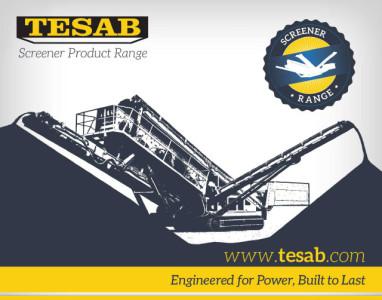 Tesab Screeners Range brochure